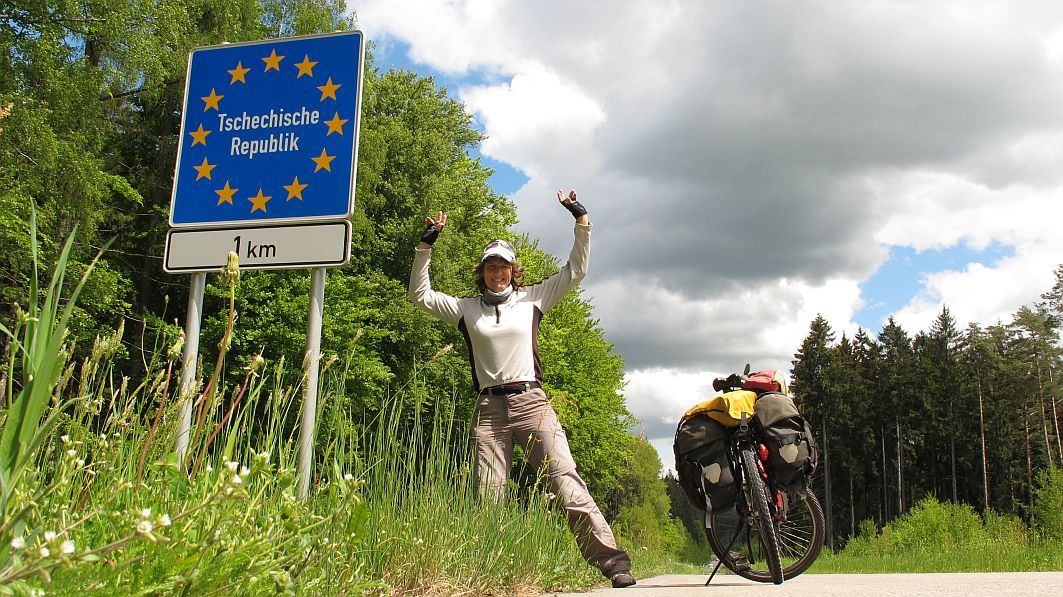 No.1 – Germany – The start of my bike ride around the world
