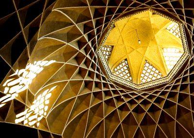 Iran Yazd mosque roof