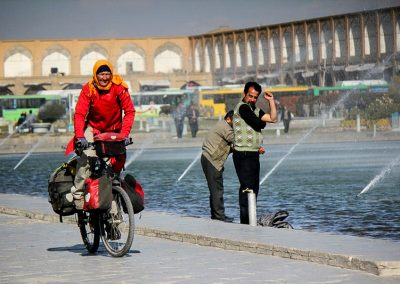 Isfahan picture taken by the press