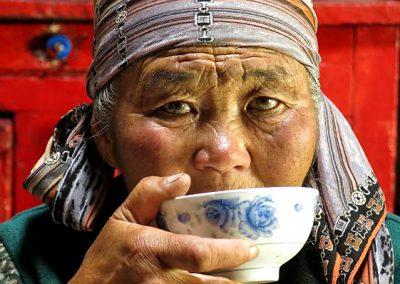 Kyrgyzstan Yurte woman