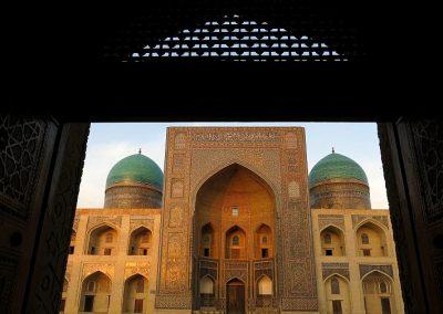 Uzbekistan Bukhara is an old city along the silk road