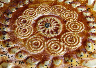 Uzbekistan bread