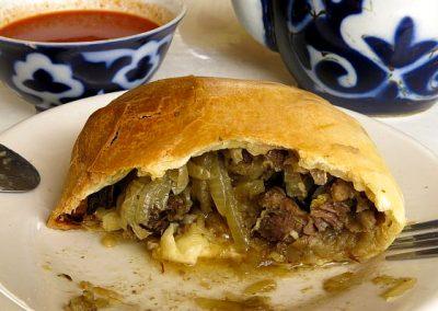 Uzbekistan filled dumplings