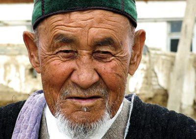 Uzbekistan old man