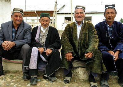 Uzbekistan old men