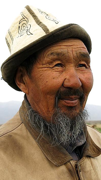 Village Ak Talaa in Kyrgyzstan