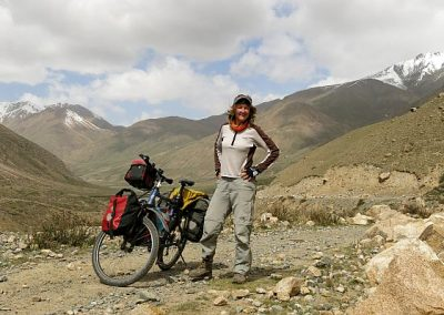 cycling Kyrgyzstan