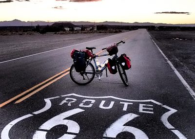 Cycling Route 66 USA California