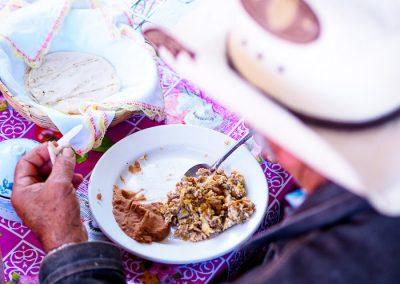 Frijoles con Huevos Rancheros