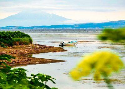 Japan Hokkaido Coastal scenery