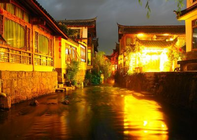 Lijang Yunnan by night