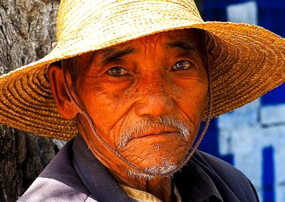 Old man in Yunnan