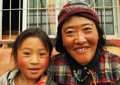 This Tibetan family invited me in