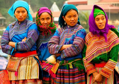 Vietnam Bac Ha market women