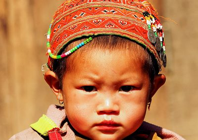 Vietnam little girl