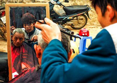 Vietnamese hairdresser