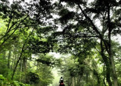 biking Hokkaido Japan