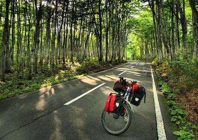 cycling Japan Honshu