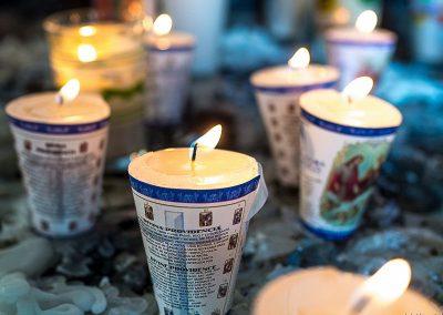 70 Mexico candles