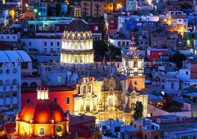 71 Mexico Guanajuato by night