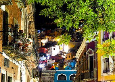 71 Mexico Guanajuato night shot