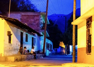Batopilas Copper Canyon Mexico by night Bike touring