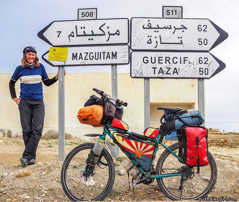 Nr.82 Bicycle touring Africa – Morocco part 1 – Police escort, amazing hospitality and great landscapes