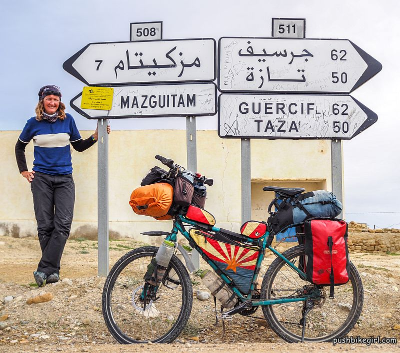 No 82 Bicycle Touring Africa Morocco Part 1 Police Escort Amazing Hospitality And Great Landscapes Pushbikegirl Heike Pirngruber Solo Female Cyclist