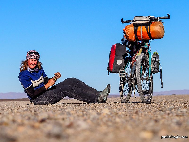 No.83 Bicycle touring Africa – Morocco Part II – The fascination of the desert