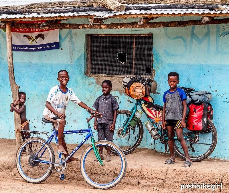 No.89 Senegal II, Casamance and Guinea-Bissau – Happy I am riding a bike