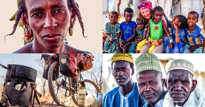 No.87 Cycling in Senegal – Toubab Toubab – White person