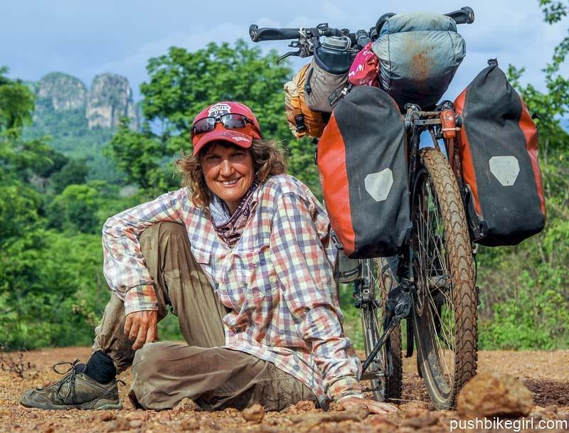 Nr.90 Radfahren in Guinea – Freundlichkeit, Farben und Monsun