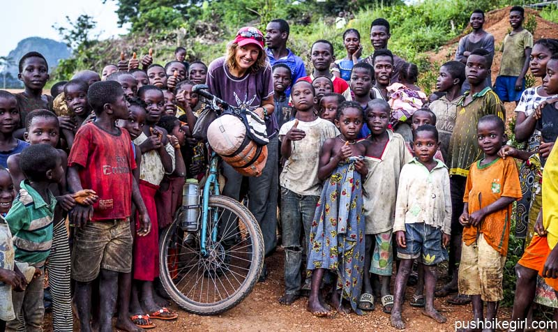 No.94 Bicycle touring Ivory Coast – This is Africa!
