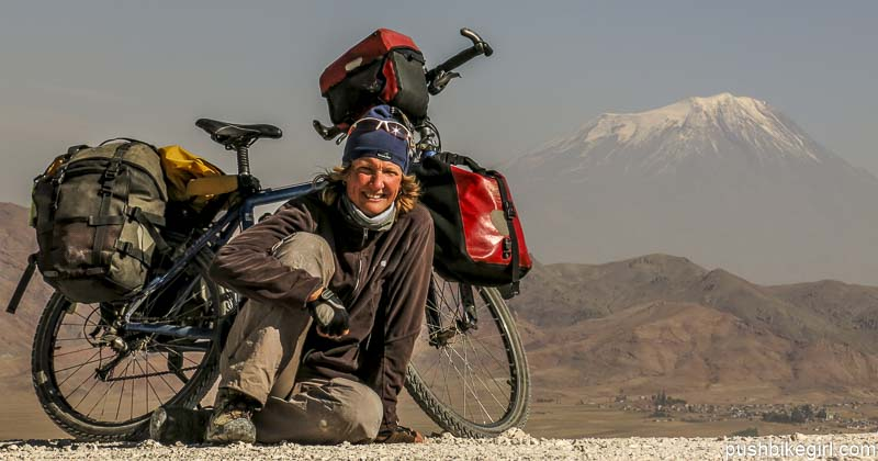 Tales and encounters from seven years cycling the world