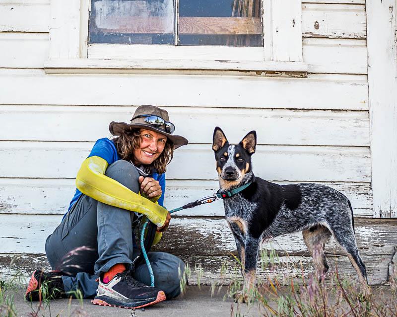 No. 101 Walk Across America – Oregon was great – heat and fires a big problem